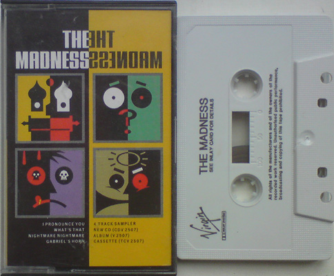 The Madness 4 Track Promo Cassette