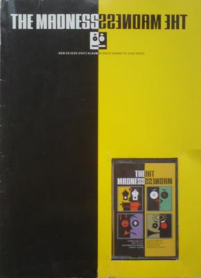 The Madness 4 Track Promo Cassette